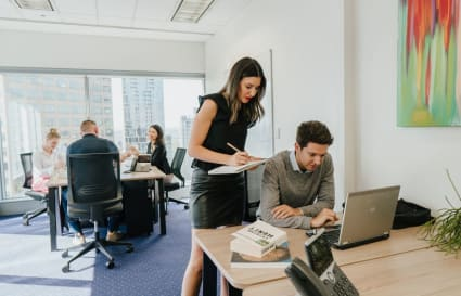 Internal private office for 6 people located in the heart of Perth's CBD