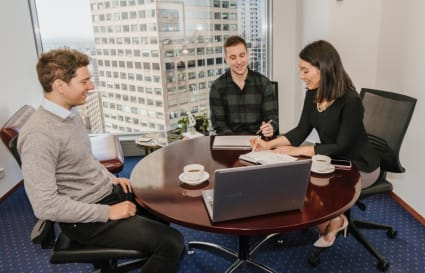 Internal private office for 5 people located in the heart of Perth's CBD
