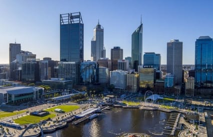 External private office for 5 people located in the heart of Perth's CBD