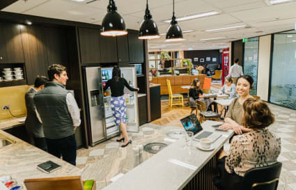 External private office for 20 people located in the heart of Perth's CBD