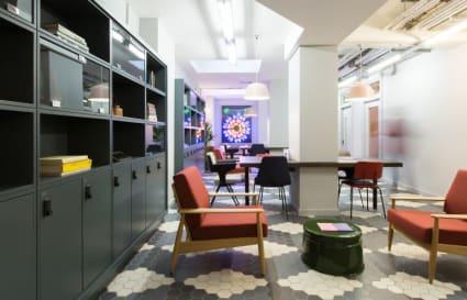 14 Person private office in Rivington Street