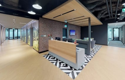 External 8 person private office Sydney