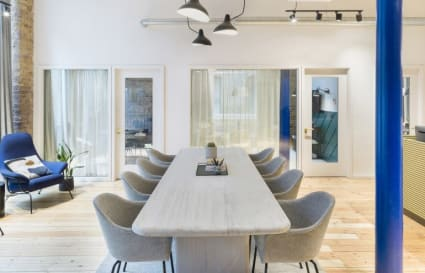 6 Person private office in Greville Street