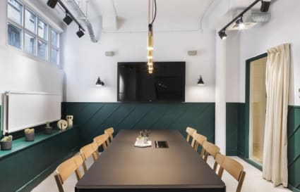 25 Person private office in Greville Street