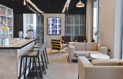20 Person private office in Gridiron Building