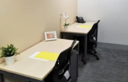 Private office for up to 3 people