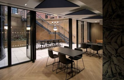 70 Person standard private office in Giltspur Street