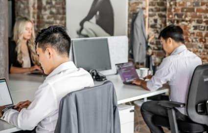Open Office Work Desks for a team of 4