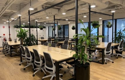 Open plan dedicated area for up to 24 people