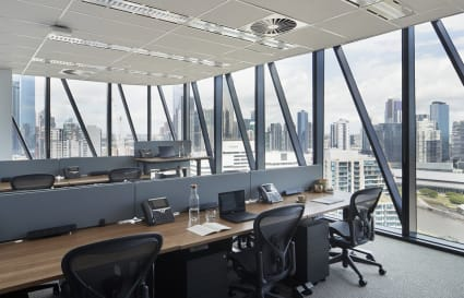 11 Person External Private Office with City views | Collins Square Tower 5