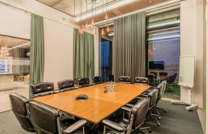 7 Person private office in Gridiron Building