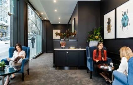 13 Person corner office