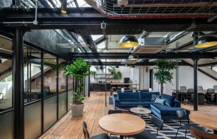 50 Person Office Available