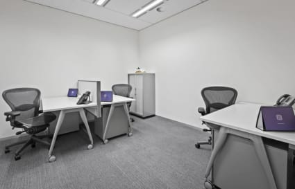 4 Person private internal office