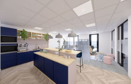 Private Customisable Space for up to 44 People