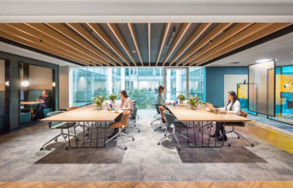 8 Person internal private office in Oxford Street
