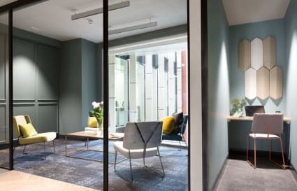 3 Person internal private office in Chancery Lane
