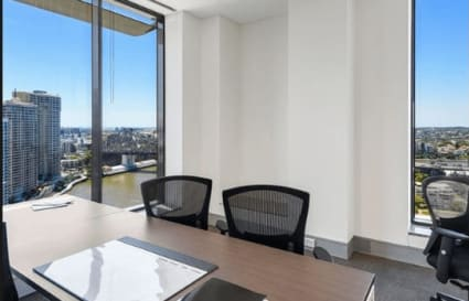3 Desk Office Suite in Brisbane with Exceptional Views