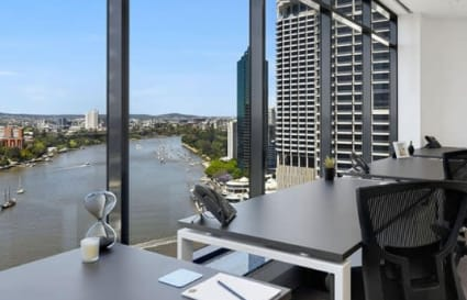 3 Desk Office Suite in Brisbane with River Views