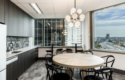 16 person private office in Sydney with Harbour Bridge views