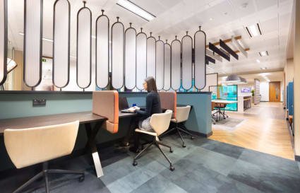 8 Person internal private office in Cannon Place
