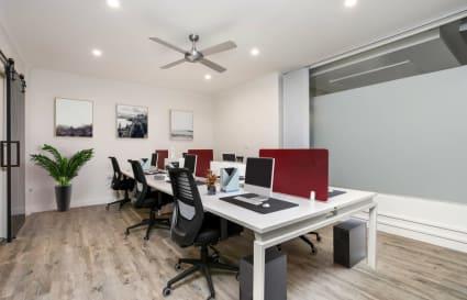 4-6 desks in Manly - designated space