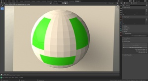 povmaniac: Smooth and flat areas in the same mesh