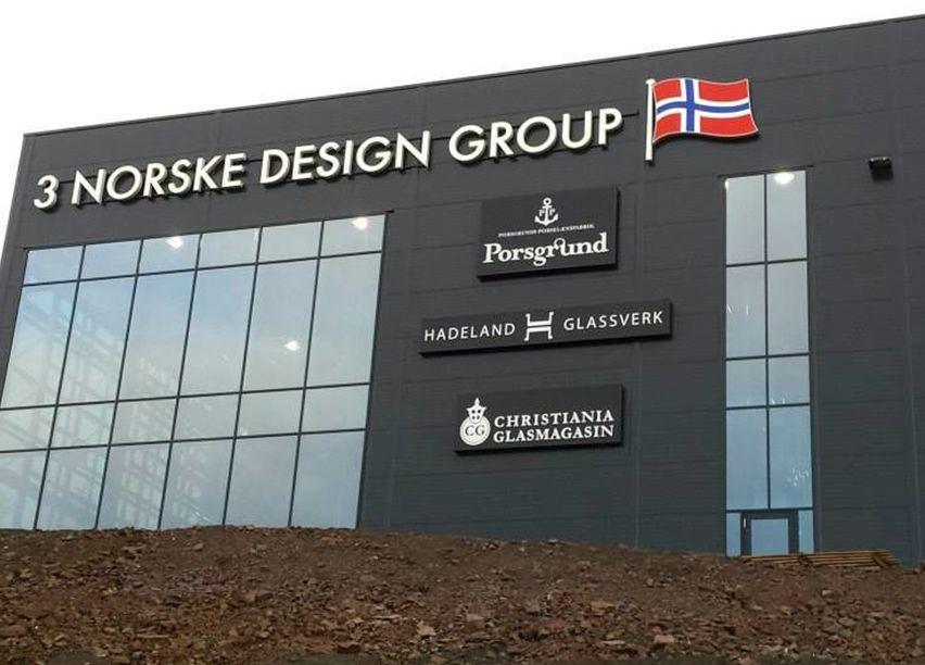 Bilde av næringsbygge til 3 Norske Design Group.