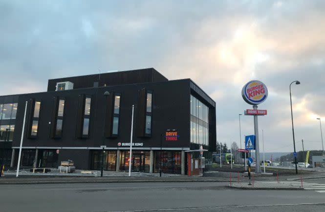 Sentrumsbygget. Burger Kind og Revetal Bibliotek