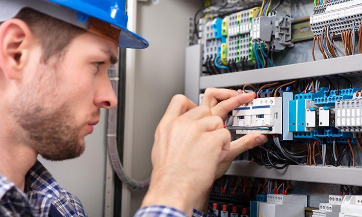elektriker sikringsskap