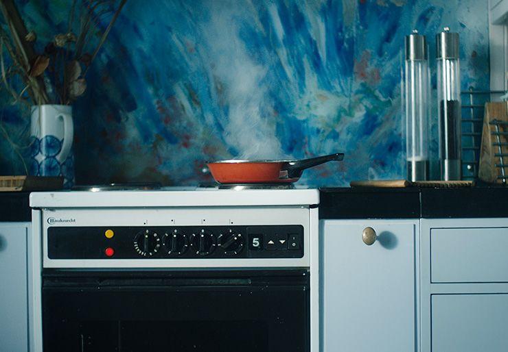 komfyrvakt på kjøkkenet