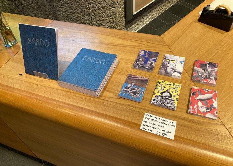 Kort og katalog fra utstillingen