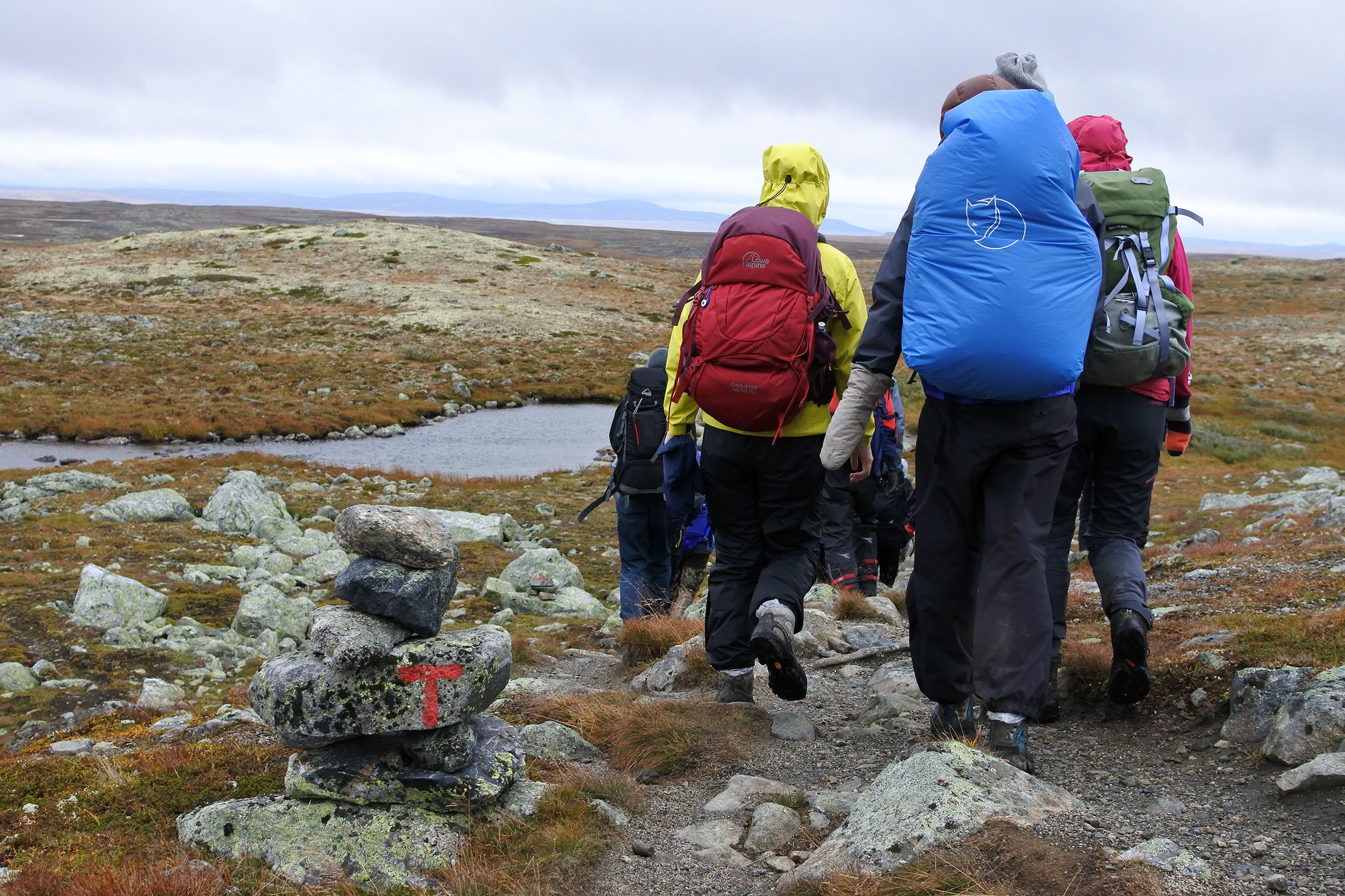 Fjelltur til Hardangervidda 2018