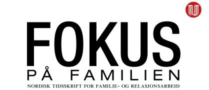 """Del av forsiden på tidsskriftet """"Fokus på familien"""""""