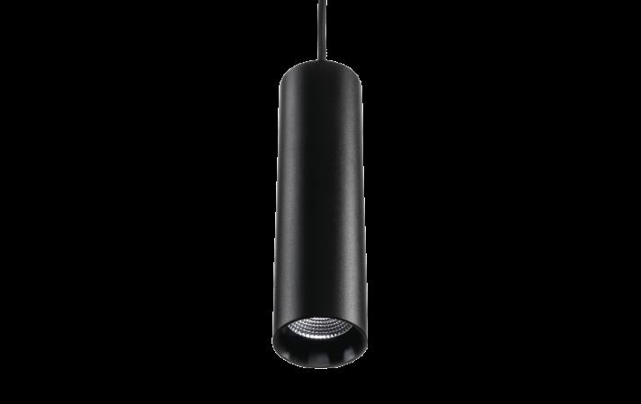 Zip Tube Mini Pendant Black Pendant 870lm 3000K Ra 98 Trailing edge dimming