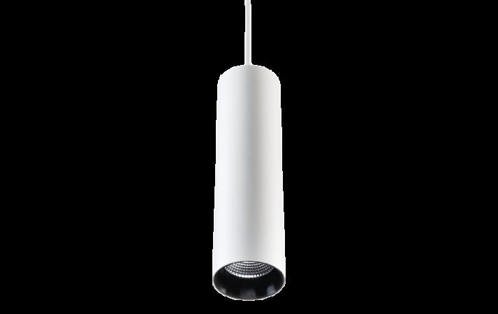 Zip Tube Mini Pendant White Pendant 870lm 3000K Ra 98 Trailing edge dimming
