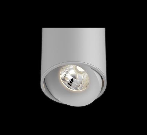 Titan Semi hvit downlight