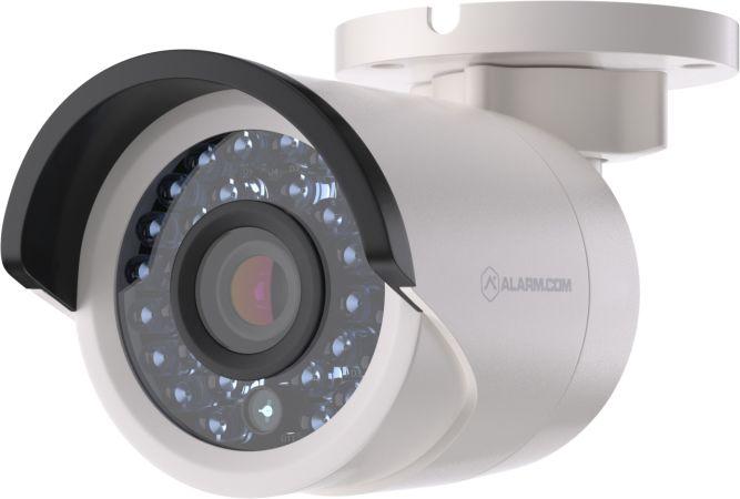Utendørs Bullet Kamera - PoE Nettverkskamera kablet -Alarm.Com