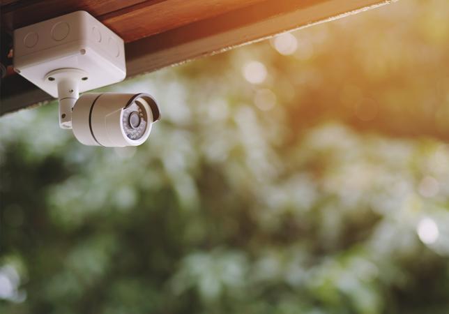 Privat videoovervåkning av eiendom
