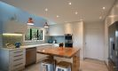 Moderne hjem med nye downlights