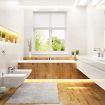 LED-strips skaper godt lys på badet