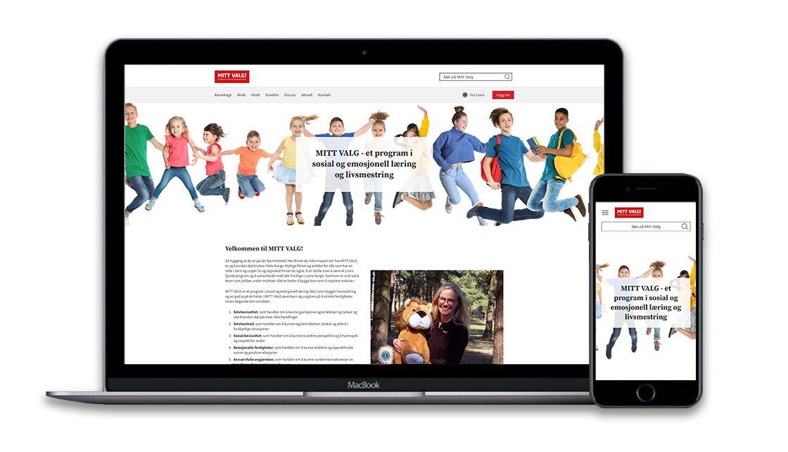 Se våre flotte nye nettsider