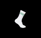 White/Medium Green