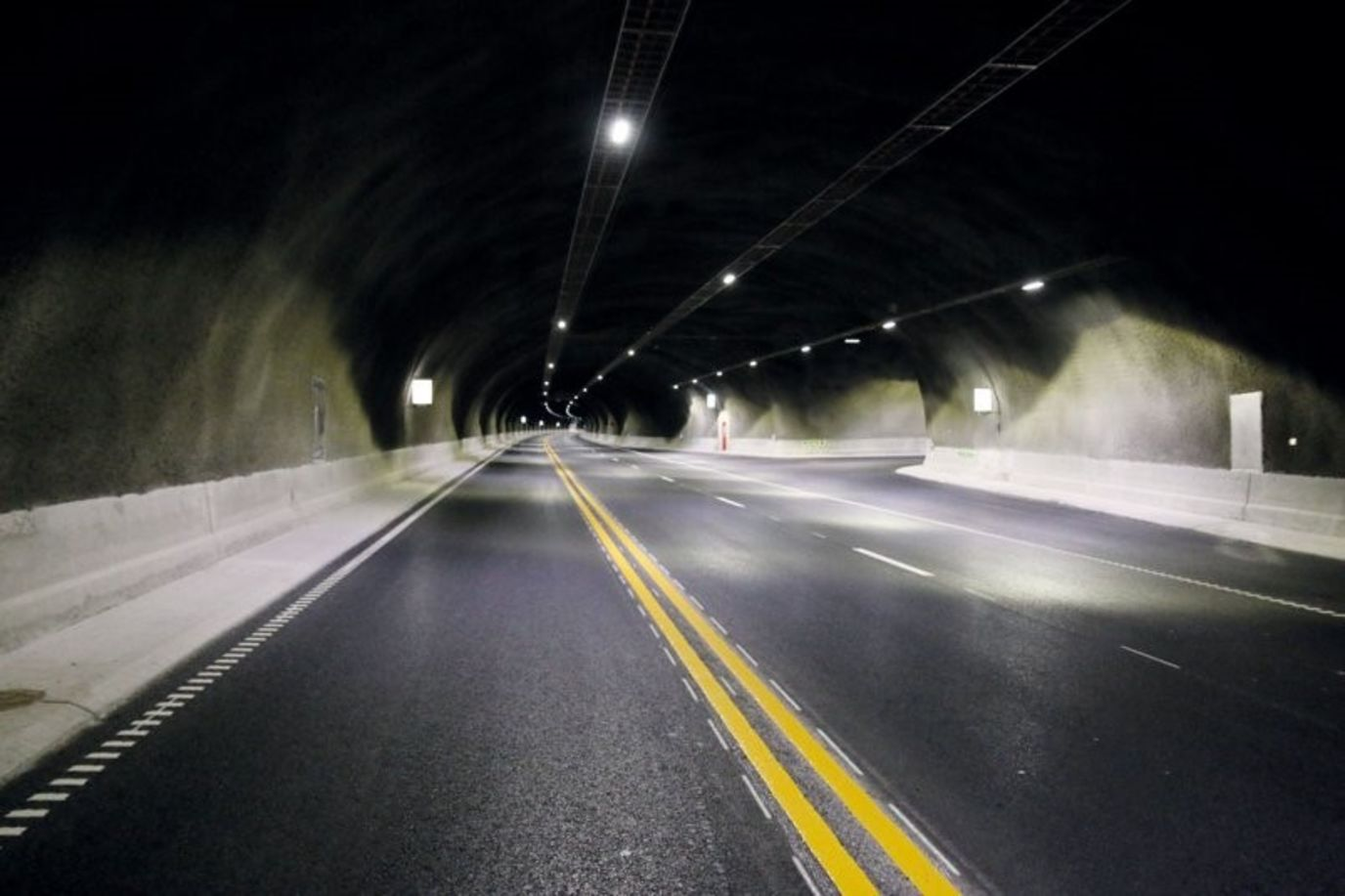 tunnelbelysning
