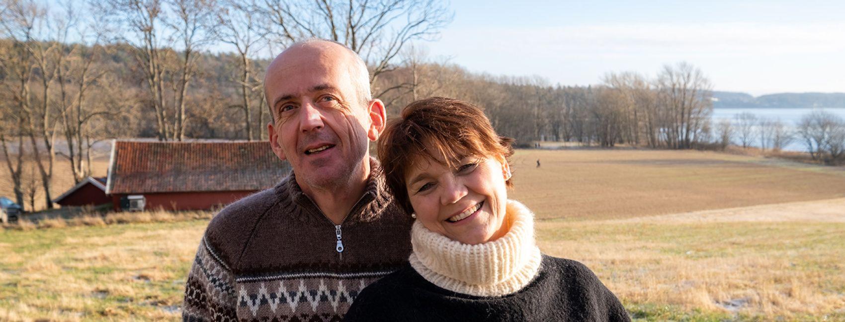 Nina og Ola er fosterforeldre i Stendi Familiehjem