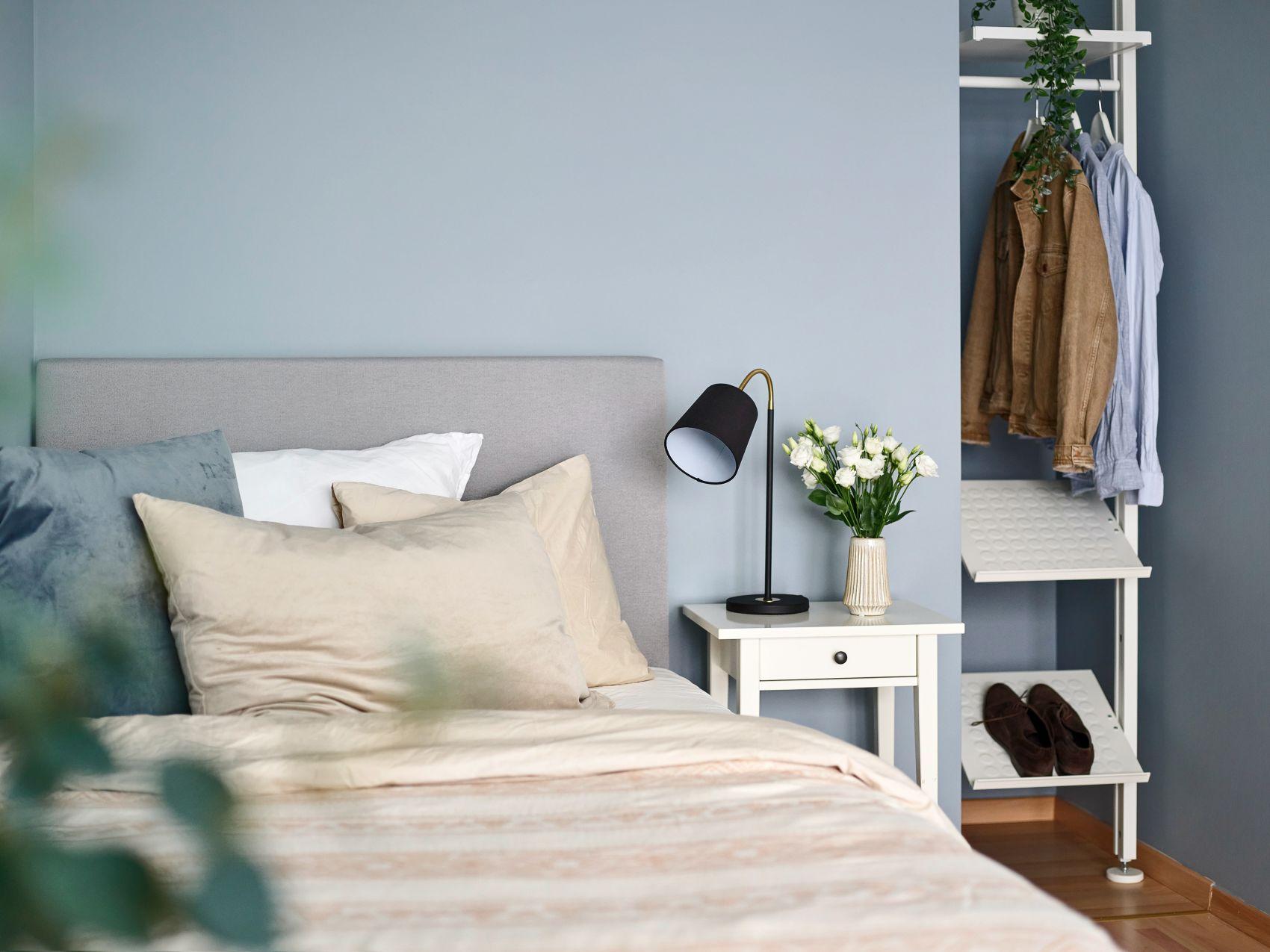 soverom på 1- og 2-roms leiligheter