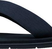 Seasand slippers fra Helly Hansen i fargen evening blue. produktbildet viser slippers sett fra siden