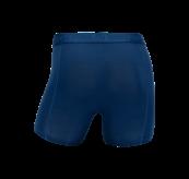 Boxhershorts fra TufteWear til herre i fargen Estate Blue/Limoges. Produktbildet viser boxeren sett bakfra