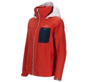 Drifter Jacket fra Amundsen Sports til dame i fargen red clay. Bildet viser jakken sett skrått forfra