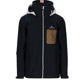Drifter Jacket fra Amundsen Sports til herre i fargen faded navy. Bildet viser jakken sett forfra